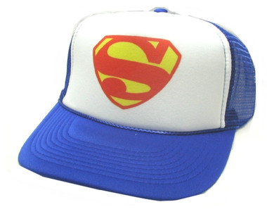 Superman Hat, Trucker Hat, Trucker Hats, SUPERMAN, Mesh Hat, Snap Back Hat