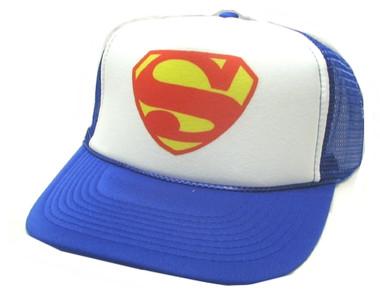 Superman Hat, Trucker Hat, Trucker Hats, SUPERMAN, Mesh Hat, Snap Back Hat