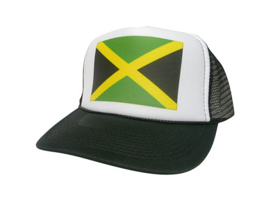 Jamaican Flag Hat, Trucker Hat, Trucker Hats, Mesh Hat, Snap Back Hat