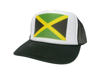 Jamaican Flag Hat, Trucker Hat, Trucker Hats, Mesh Hat, Snap Back Hat