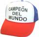 CAMPEON DEL MUNDO Hat, Trucker Hat, Trucker Hats, Mesh Hat, Snap Back Hat