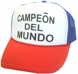 CAMPEON DEL MUNDO Hat, Trucker Hat, Trucker Hats, Mesh Hat, Snap Back Hat