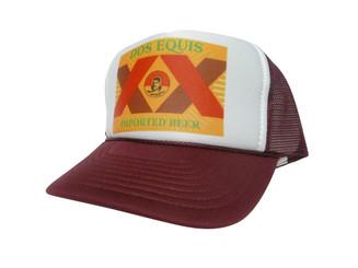 Dos Equis, Dos Equis Hat, Trucker Hat, Trucker Hats, Mesh Hat, Snap Back Hat