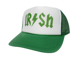 Irish Hat, Irish Trucker Hat, Trucker Hat, Trucker Hats, Mesh Hat