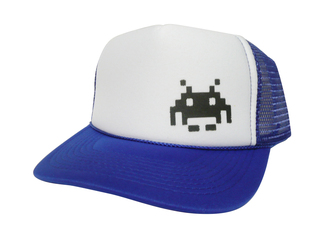 Space Invader Hat, Trucker Hat, Mesh Hats, Snap Back Hats