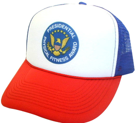 Presidential Physical Fitness Award Medal Hat, Trucker Hat, Mesh Hat, Snap Back Hat