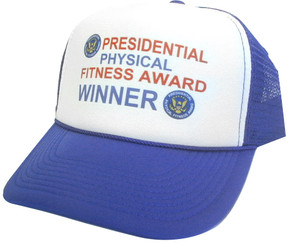 Presidential Physical Fitness Award Winner, Trucker Hat, Mesh Hat, Snap Back Hat