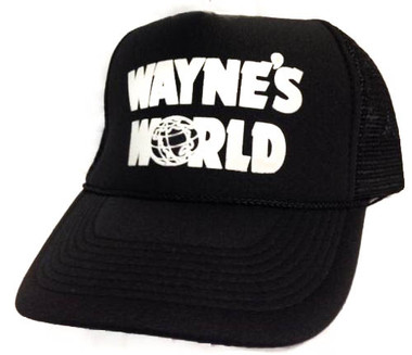 Wayne's World, Wayne's World Hat, Trucker Hat, Trucker Hats, Mesh Hat, Snap Back Hat, TV Hat