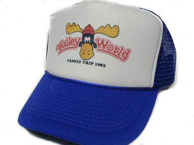 Walley World Hat, Wally World Trucker Hat, Trucker Hat, Mesh Hat, Snap Back Hat