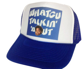 Whatcu Talkin' Bout, Trucker Hat, Mesh Hat, Snap Back Hat, Trucker Hats