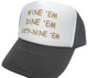 SEABASS DUMB AND DUMBER Hat, Wine Dine 69, Trucker Hat, HEY! Hat, Trucker Hats