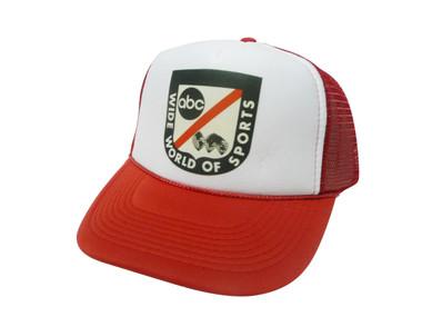 Wide World of Sports, Trucker Hat, Trucker Hats, Mesh Hat, Snap Back Hat