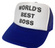 Worlds Best Boss, Trucker Hat, Trucker Hats, Mesh Hat, Snap Back Hat