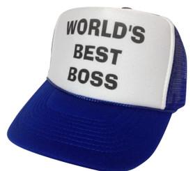 Worlds Best Boss, Trucker Hat, Trucker Hats, Mesh Hat, Snap Back Hat