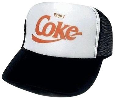 Coke Hat, Coke Trucker Hat, Trucker Hat, Trucker Hats, Mesh Hat, Snapback Hat