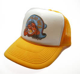 Acapulco Gold Trucker Hat 80's Style Cannabis cap Snap back
