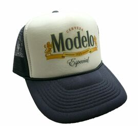 Modelo Especial Beer Hat Trucker Hat Snap Back Party Cap