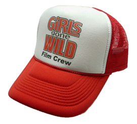 Girls Gone Wild Film Crew Trucker Hat Original Adjustable Snap Back Cap