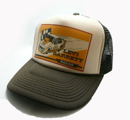 Levi Garrett Drag Racing Trucker Hat Tobacco Hat Snap Back NHRA Cap