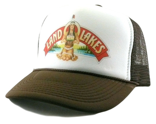 Land O Lakes Trucker Hat Mesh Snap Back Indian Butter Hat