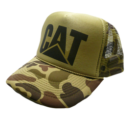 Cat Tractors Hat Trucker Hat Snap Back Hunting Cap