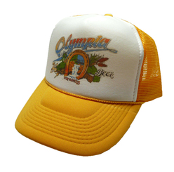 Olympia Beer Trucker Hat 80's Style Mesh Hat Snap Back Cap