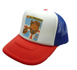 ALF For President Hat Adjustable Trucker Hat Snap Back ALF Cap