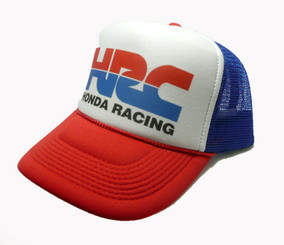 Honda HRC Hat Trucker Hat Adjustable Snap Back Racing Cap
