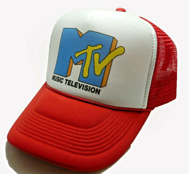 Music Television Trucker Hat MTV Hat TV Show Cap