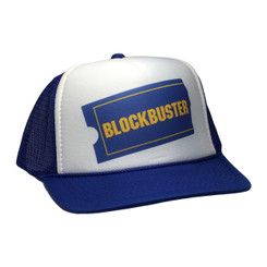 Blockbuster video Trucker hat mesh hat adjustable snap back cap
