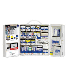 First Aid Only SmartCompliance First Aid Cabinet (OSHA), 209-Piece First Aid Kit, Large, 1000-FAE-1030
