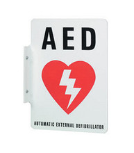 Philips Automated External Defibrillator (AED) Wall Sign