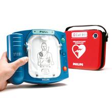 Philips HeartStart OnSite AED Defibrillator + Slim Carry Case, M5066A