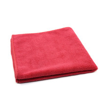 16x16 Microfiber Towels, Red