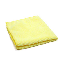 16x16 Microfiber Towels, Yellow