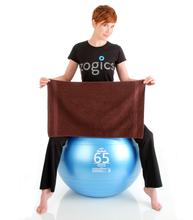 16x28 Gym Workout Towel, Brown, 200A Series, 3lb