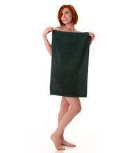 16x27 Salon Hand Towel, Hunter Green, 100A Series, 2.75lb