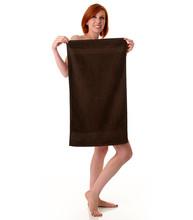 16x28 Bleach Proof Salon Hand Towel, Brown, 300A Series, 3lb