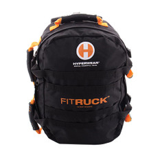 FitRUCK Features Convertible backpack with multiple uses. Made with quality ballistic nylon ruck. Can hold up to 40 lbs. of additional weight. Storage compartments can carry SandRopes, SandBells, SteelBells, and more.