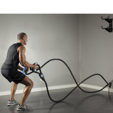 Two great training methods in one awesome system! This unique system combines Body Weight Suspension Training and Battle Rope training in ONE fun, engaging and effective workout!