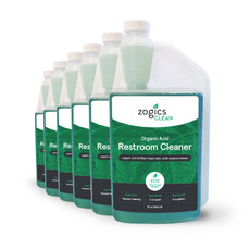 Specifications Manufacturer Part NumberCLNREC32CN-6 Volume32 oz Quantity6/case Weight12 lbs ColorGreen ScentFragrance Free pH Level2-3 Recommended Dilution1:16 Freeze/Thaw StabilityKeep from freezing   Please email us for these. Happy to send.   Organic Acid Restroom Cleaner SDS Sheet Organic Acid Restroom Cleaner Product Sheet