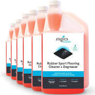 Specifications  Manufacturer Part NumberCLNRFC32CN-6 Volume32 oz ea. Weight1.92 lbs ea. ColorPink ScentFragrance Free pH Level6.0 - 7.0 Recommended Dilution1–2 oz/gallon (mop & bucket) 10 oz/gallon (autoscrubber) Freeze/Thaw StabilityKeep from freezing IngredientsSecondary Alcohol Ethoxylate - (84133-50-6), C8-C10 Ethoxylated, Propoxylated Alcohols - (68603-25-8), Sodium Xylene Sulfonate - (1300-72-7), Potassium Citrate - (6100-05-6), Dye - (N/A), Water - (7732-18-5)  Please email us for this . Be happy t send them.  Zogics Rubber Sport Flooring Cleaner & Degreaser SDS Zogics Rubber Sport Flooring Cleaner & Degreaser Product Sheet