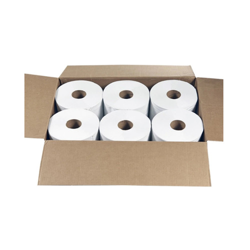 """Specifications ColorWhite Volume654 towels (per roll) QuantityCase (6 rolls) Dimensions11"""" H x 8"""" W towels Weight21 lbs/case"""