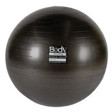 BODY SPORT(R) STUDIO SERIES FITNESS BALL (EXERCISE BALL), 65 CM, CHARCOAL