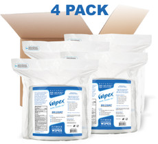 FRAGRANCE: Unscented   NEVER TESTED ON ANIMALS   WIPE COUNT: 800 wipes per refill roll   WIPE SIZE: 7″ x 8″ (17.8 x 20.3cm)   UPC: 655315011236   Ingredients: Water, Sodium Hydroxymethylglycinate, Potassium Sorbate, Sodium Benzoate, Citric Acid, Benzalkonium Chloride, Aloe Vera Extract, Sodium Chloride.