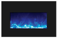 BLACK GLASS SURROUND W/ CLEAR VIEWING AREA - 10701133C