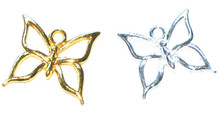 Open Butterfly Charms