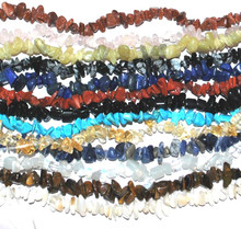SALE! - Genuine Gemstone Chipstone Beads