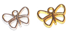Butterfly Outline Charms