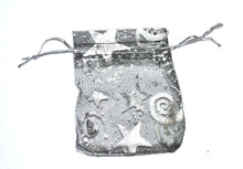 Organza Gift Bags - Star